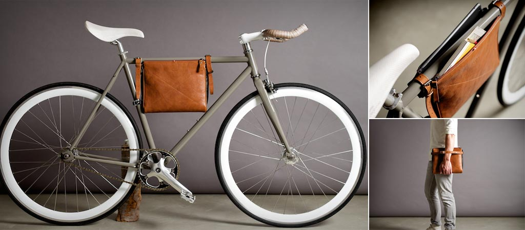 Hard Graft bicycle frame folio