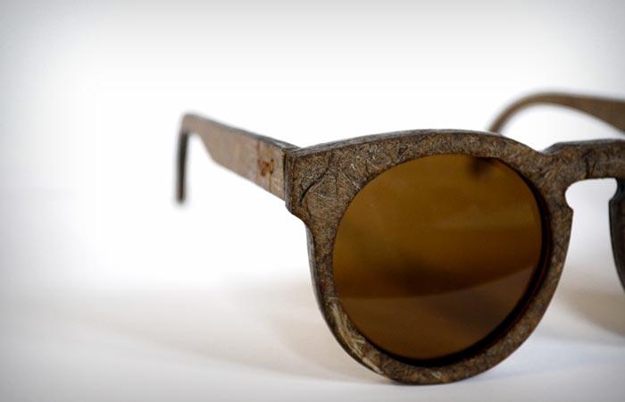 Hemp frame sunglasses