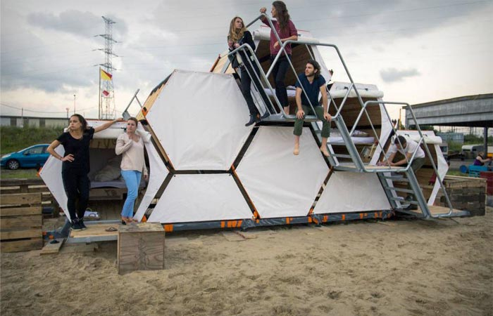 B and Bee tent for concerts and festivals