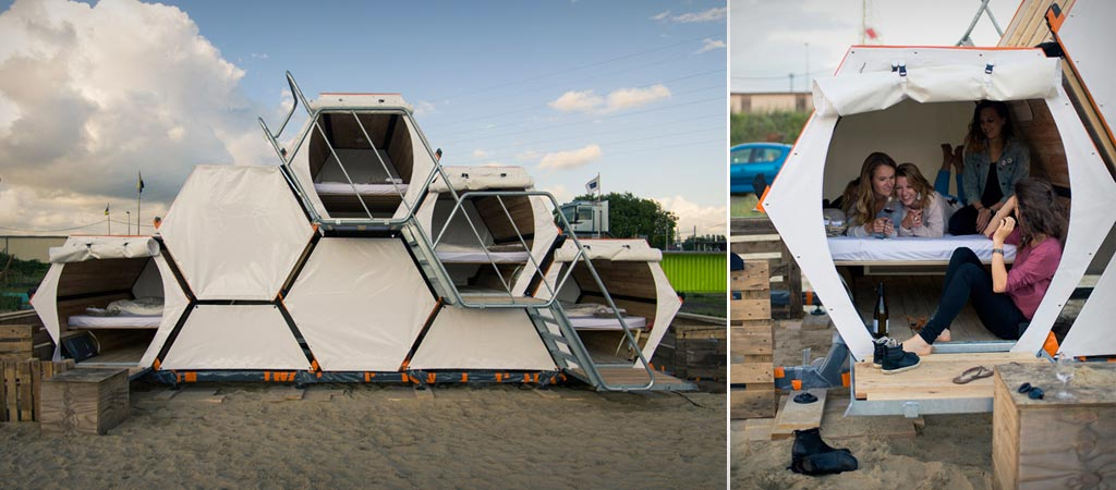 Honeycomb Tent by B and BEE
