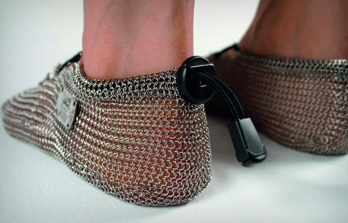 Paleo Barefoot chainmail shoes
