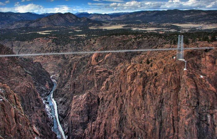 Royal Gorge Bridge Bungee Jump in Canon City, Colorado