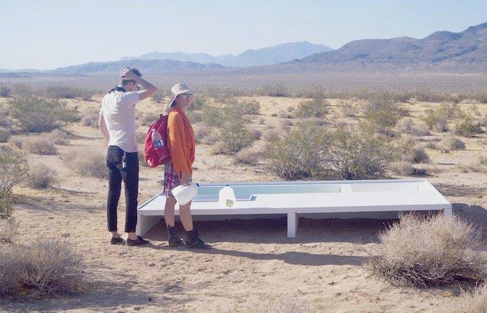Social Pool Secret Swimming Pool In The Desert