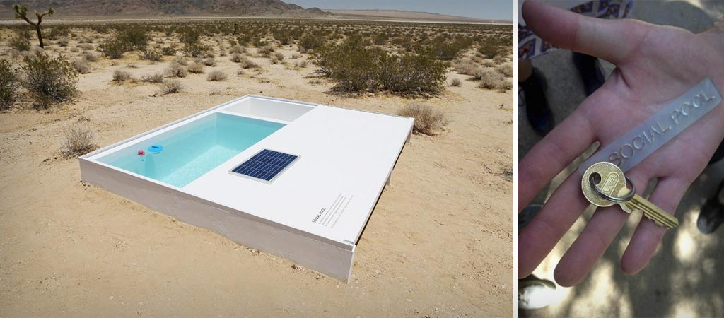 Social Pool : The Secret Swimming Pool in the Desert