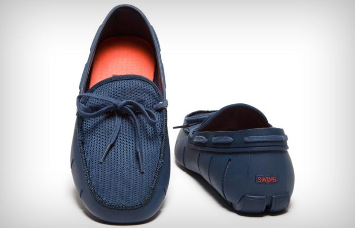 Swims water resistant loafers for men