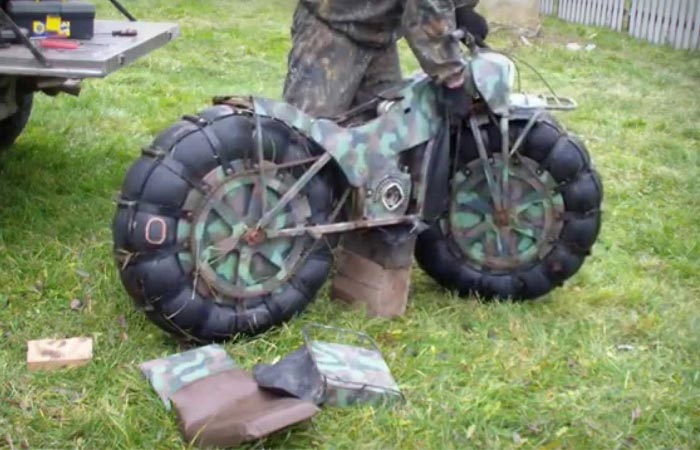 Taurus 2x2 all-terrain motorcycle