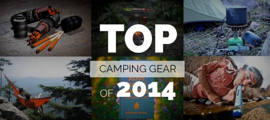 TOP 10 CAMPING GEAR OF 2014