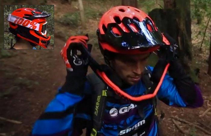Bell Super 2R mountain bike helmet