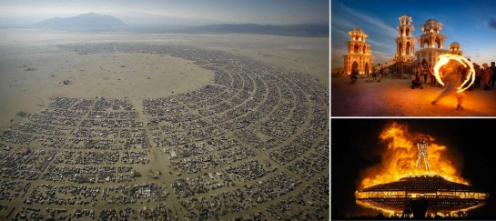 BURNING MAN FESTIVAL (VIDEO)