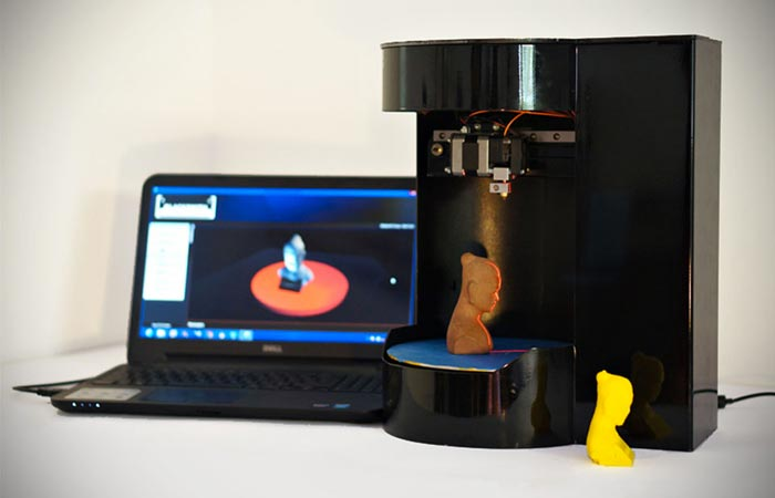 Genesis Rotary 3D Printer and Scanner