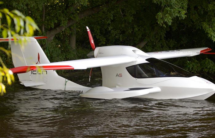 Icon A5 Amphibious Aircraft