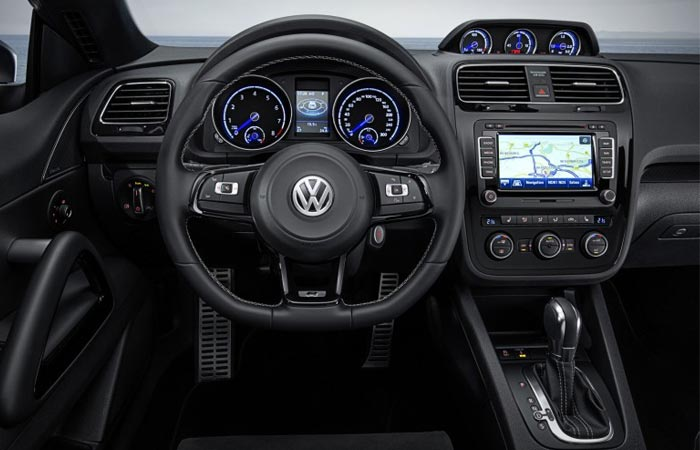 New VW Scirocco interior