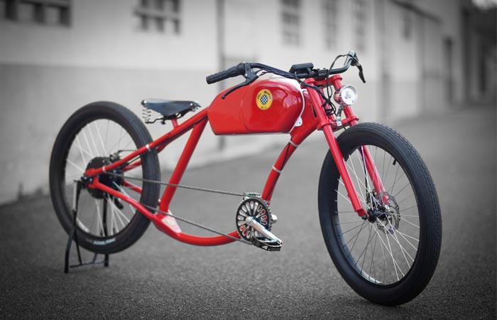 Otor electric bicycle by Oto Cycles