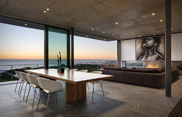 Pearl Bay Residence interior design in Cape Town South Africa
