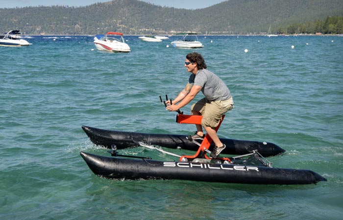 Schiller X1 water bicycle