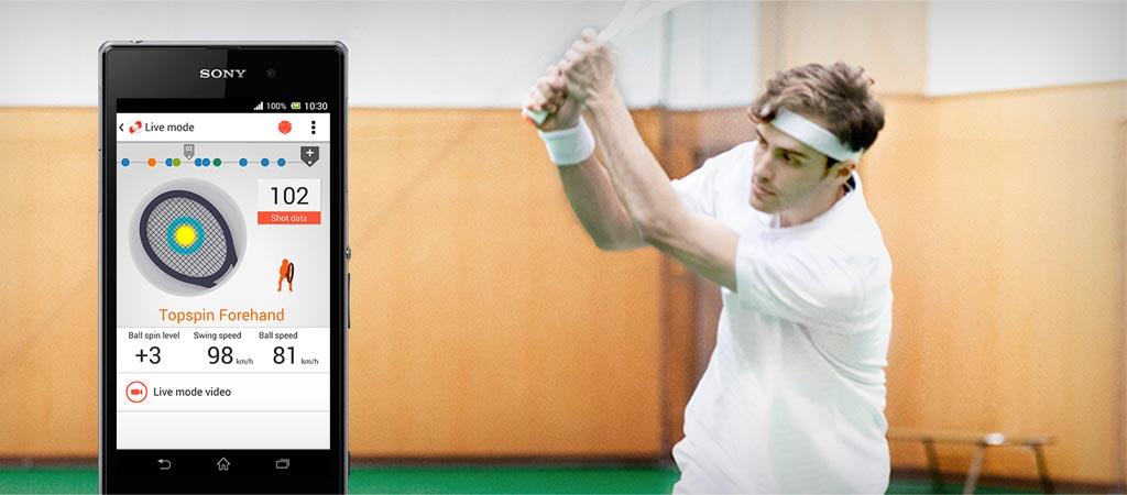 Sony smart tennis sensor SSE TN1W-2