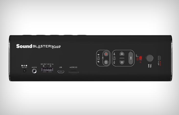 Sound Blaster Roar inputs
