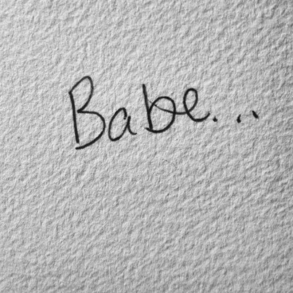Babe handwrite