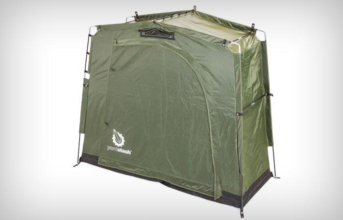 Yardstash III waterproof portable shed