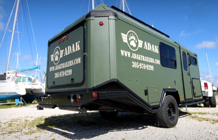 Adak Trailer rear