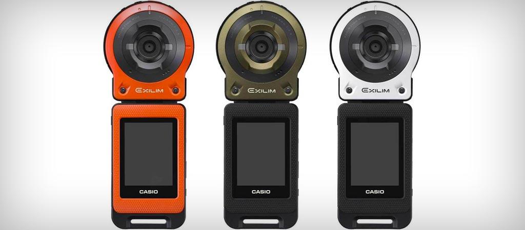 Casio Exilim EX-FR10 action camera
