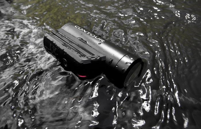 Contour Roam3 is waterproof
