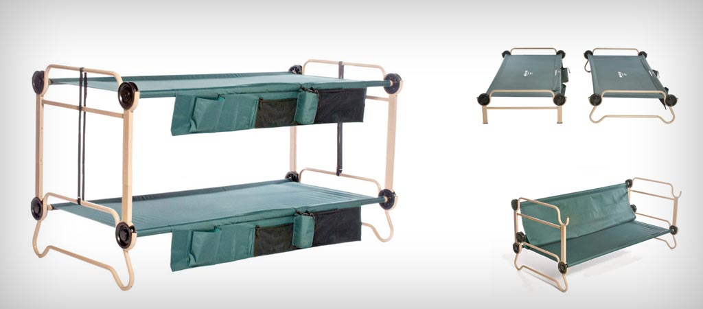 Bunk Bed That Turns Into A Cot