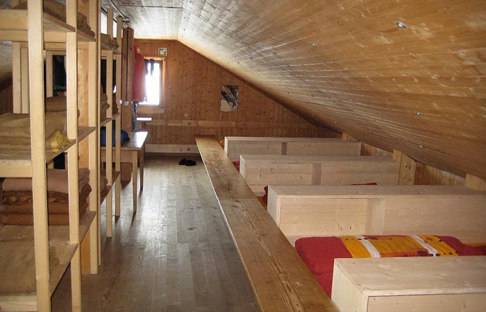Hollandia Hutte Winter Resort in Switzerland