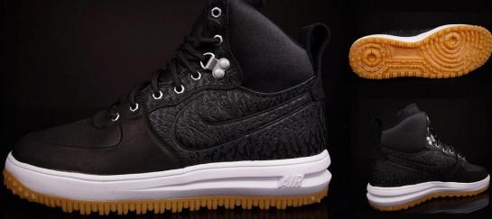 NIKE LUNAR FORCE 1 SNEAKERBOOT | BLACK ELEPHANT