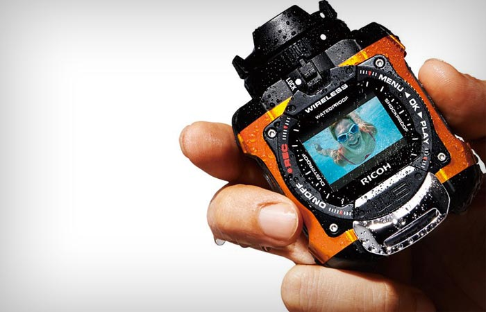 Ricoh WG-M1 waterproof action camera