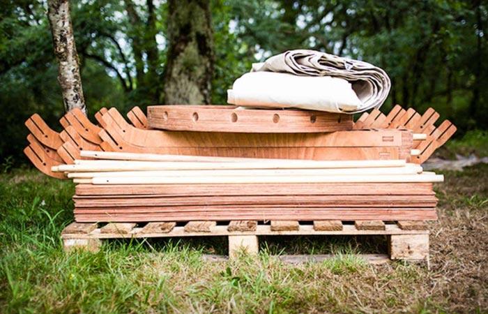Material to make the Trakke Jero Tent