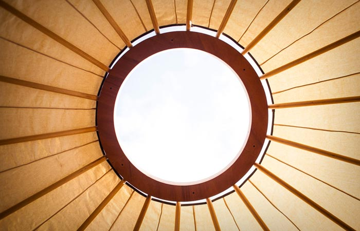 Roof of the Jero Tent