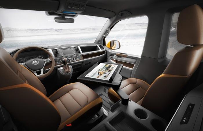 VW Tristar interior