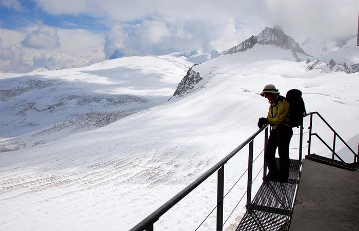 View from Bertol Hut