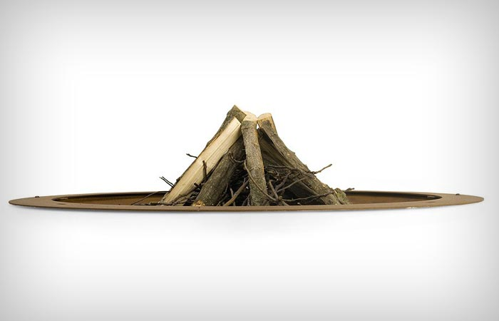 Hole Fire Pit by AK47 Design