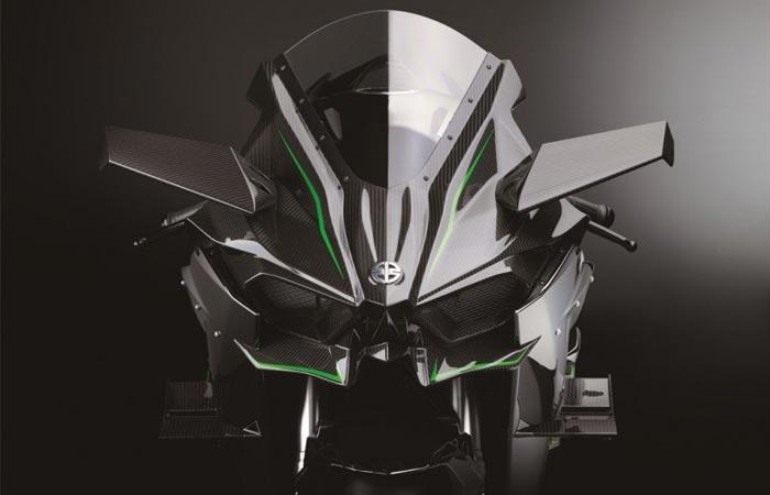Kawasaki Ninja H2R front shield