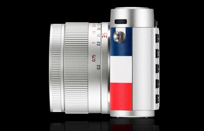 Leica X Edition Moncler lens