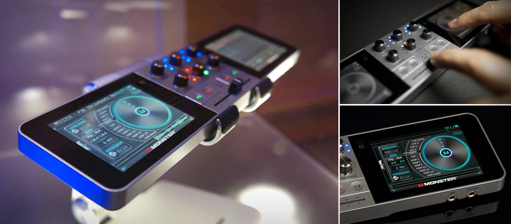 Monster Go Dj Portable Mixer And Turntable