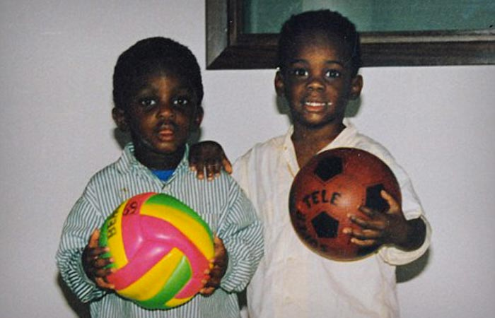 Mario Balotelli Baby Picture