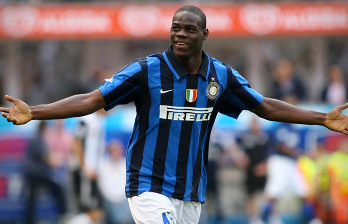 Mario Balotelli Inter Milan