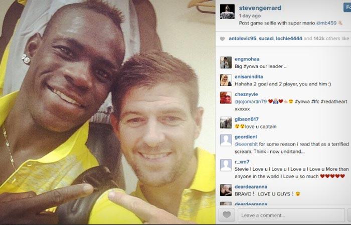 Mario Balotelli on Social Media