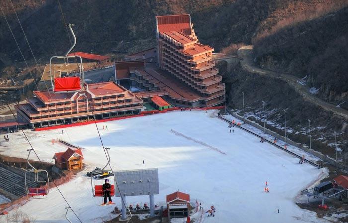 North Korea ski resort