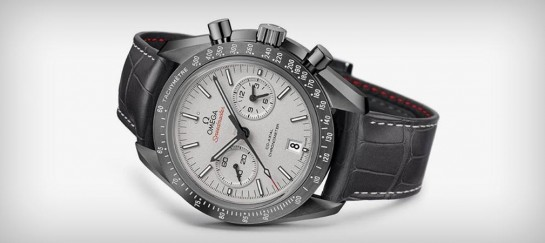 OMEGA SPEEDMASTER GREY SIDE OF THE MOON WATCH
