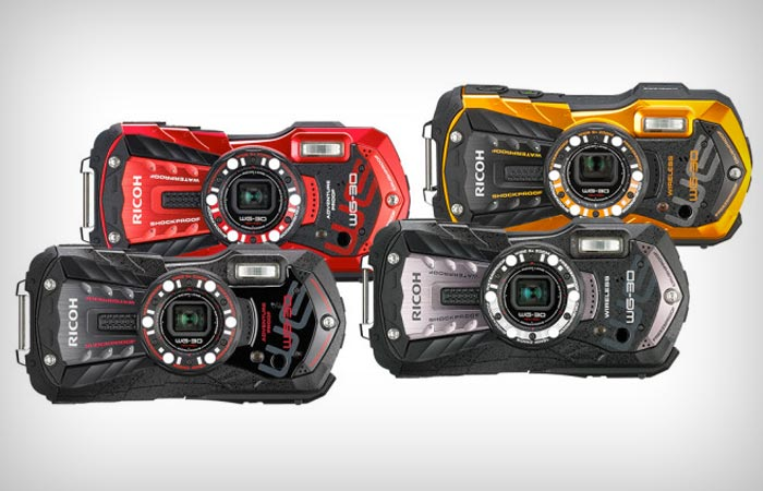Waterproof Ricoh cameras