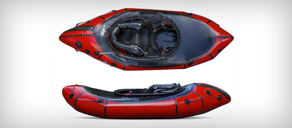 Alpackalypse whitewater pack raft