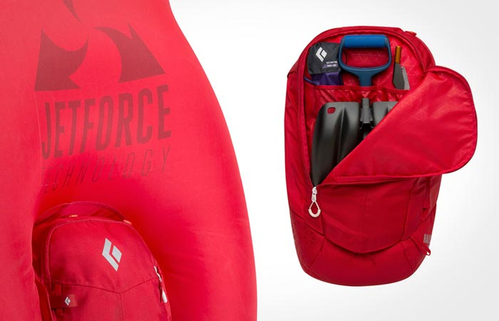 Black Diamond jetforce Airbag backpack