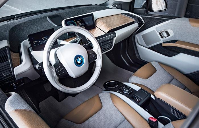 Inside the BMW i3