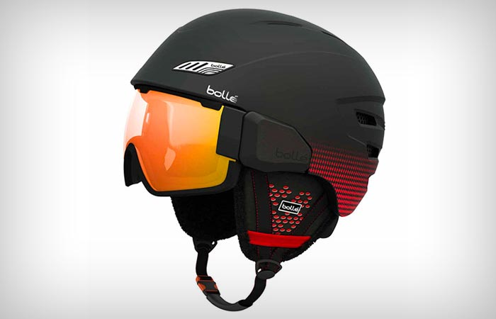 Bolle Osmoz snow helmet in red