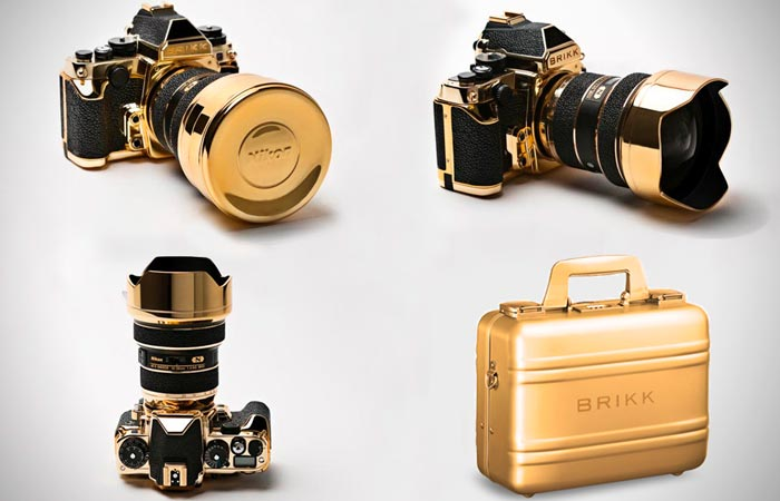 Brikk 24k Gold Nikon DF Camera