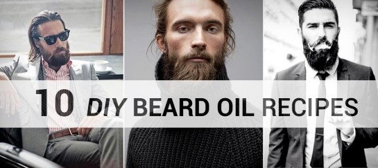 10 DIY BEARD OIL RECIPES